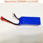 ZEDA 3300MAH 11.1V 60C FOR T-REX COPTER
